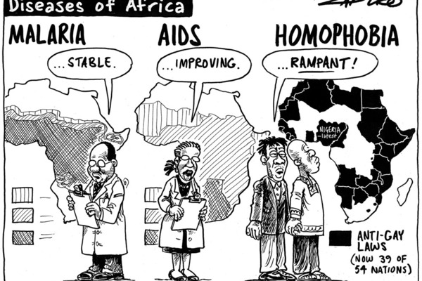 Homosexuality in africa before colonialism